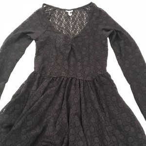 Free people size s/p black dress